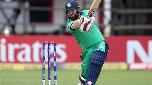 Paul Stirling was 'Player of the Match' for his 71 runs.
