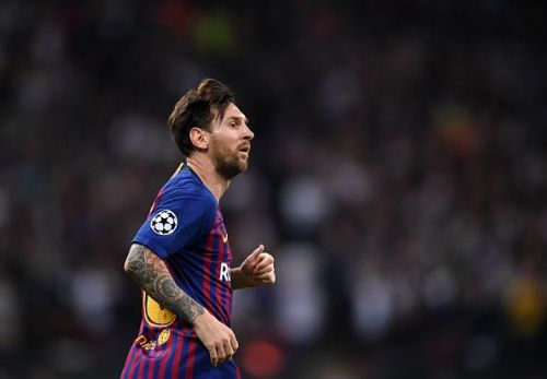 Lionel Messi has made his impact each and every time that he started in the Champions League. He won Player of the Week awards in all of his starts.
