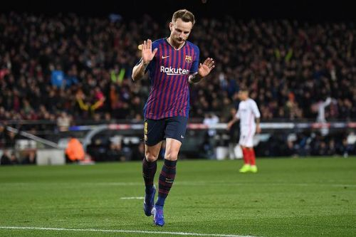 Ivan Rakitic could leave Barcelona in the summer