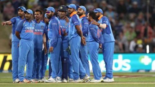 तीसरे वनडे में भारतीय टीम