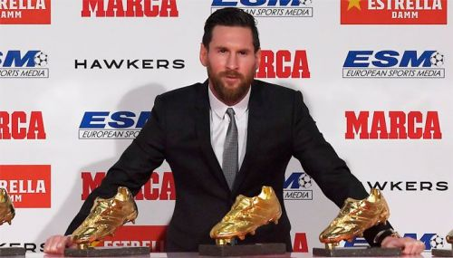 Messi now has three more goals than Ronaldo in the Golden Shoe race