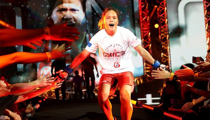 """Gina """"Conviction"""" Iniong is looking to re-insert herself in the title picture as she returns to action"""
