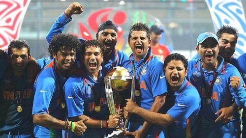 2011 World Cup winning team