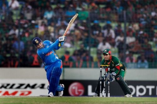 Virender Sehwag scored 175 against Bangladesh in the 2011 World Cup