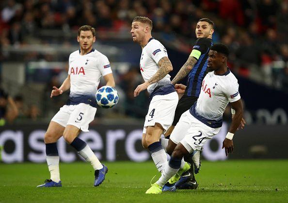 Tottenham Hotspur v FC Internazionale - UEFA Champions League Group B