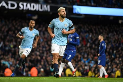 Sergio Aguero scored a hat-trick against Chelsea in a 6-0 demolition at the Etihad two weeks ago
