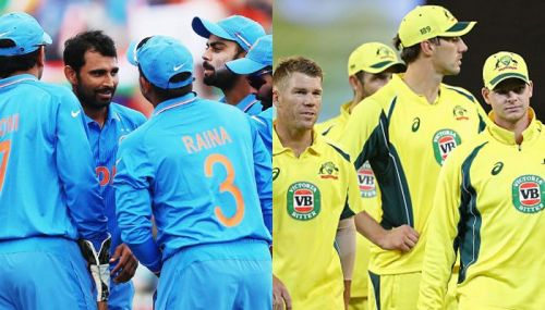 India And Australia Cricket Team