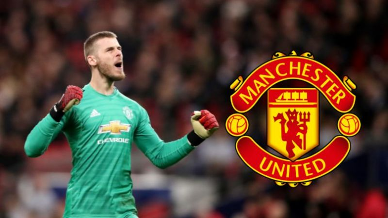 David De Gea is on the cusp of signing a new long term deal at United.