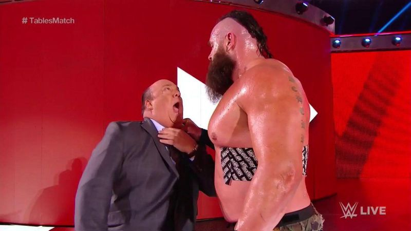 What issue does Braun Strowman have with Brock Lesnar