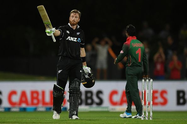 New Zealand v Bangladesh - ODI Game 1 Litan dass wicket