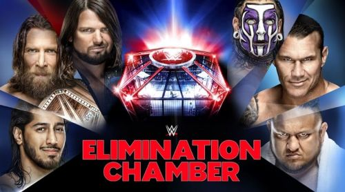 The Elimination Chamber pay-per-view is set to take place this Sunday