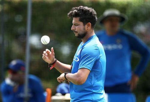 Kuldeep Yadav played only one match in the T20I series against New Zealand