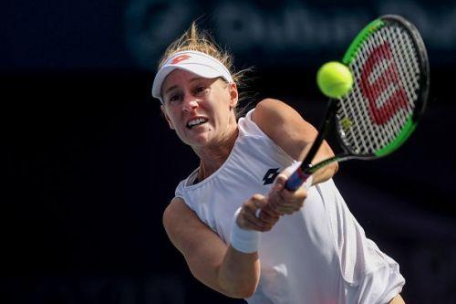 Alison Riske: Dubai Duty Free Tennis Championships 2019 - Day Two