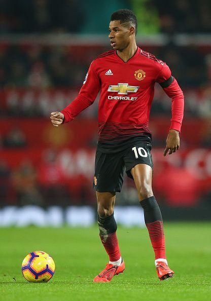 Manchester United striker went cold against Burnley