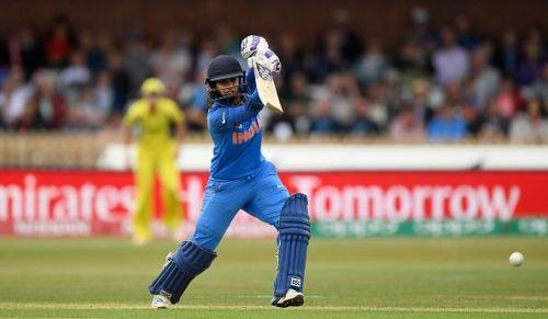 India's ODI captain Mithali Raj in action