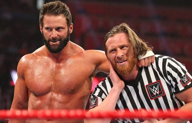 Zack Ryder with Curt Hawkins