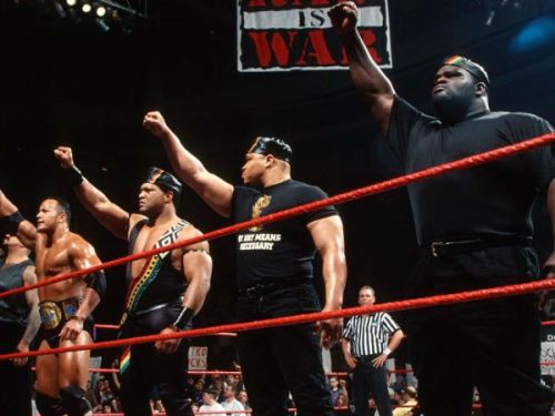 The Nation of Domination was a heel stable in the WWF from 1996 to 1998