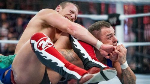 Daniel Bryan defeated Santino Marella to win his first chamber match