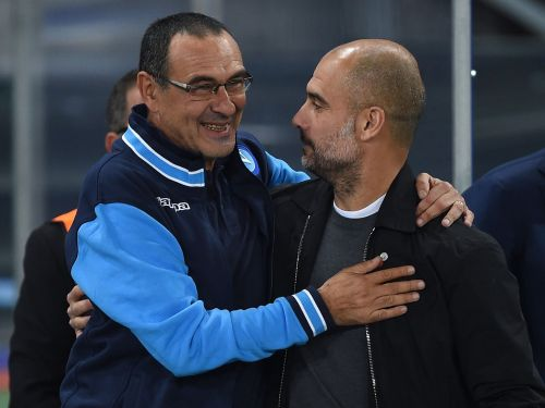 Pep Guardiola and Maurizio Sarri, two top Premier League managers go face to face for the second time this season.