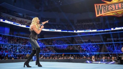Charlotte Flair kicked off SmackDown Live