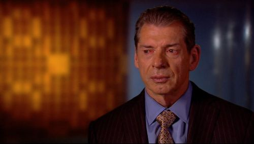 Image result for vince mcmahon crying