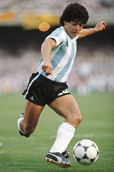 Diego Maradona Argentina 1985