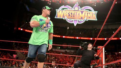 WrestleMania won't be the same without John Cena