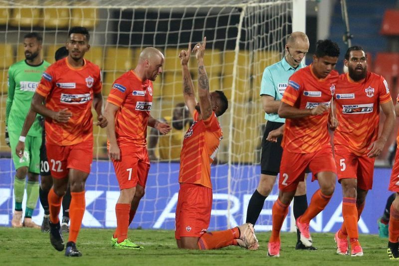 Robin Singh scored a competitive goal after 14 months in Pune