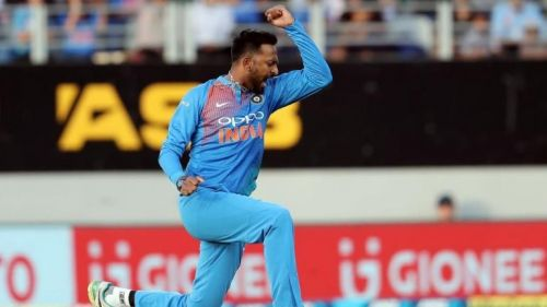 Krunal Pandya ran through the Kiwi top order to help India restrict New Zealand to a modest total.