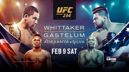 UFC 234 goes down from Melbourne, Australia on Saturday night