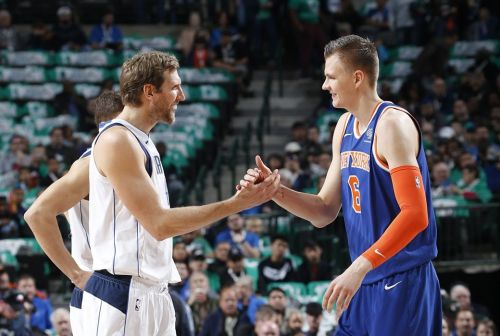 Porzingis now has a capable mentor in Nowit