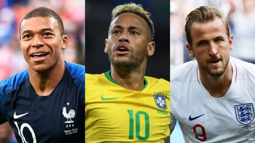 Kylian Mbappe, Neymar and Harry Kane are among the best players in the world right now
