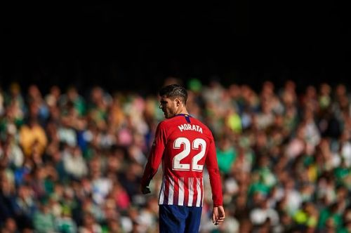 Morata endured a tough return to Spain with a 1-0 away defeat by Real Betis last weekend