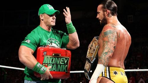 John Cena and CM Punk