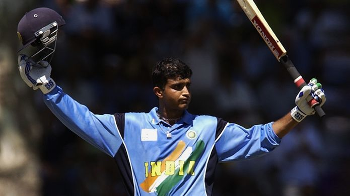 Ganguly led from the front with the bat in 2003, scoring two hundreds