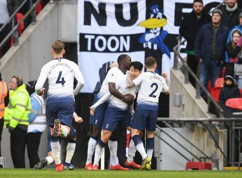 Tottenham won another game in the dying stages against Newcastle last weekend