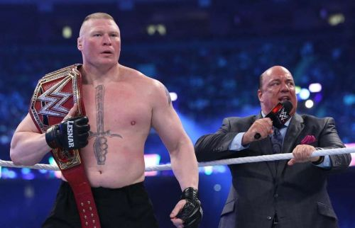 Lesnar successfully retained the Universal Championship at WrestleMania 34.