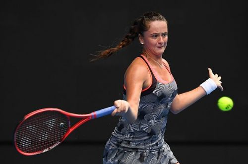 Viktoria Kuzmova at 2019 Australian Open - Day 4
