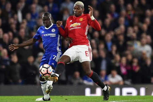 Pogba and Kante will battle for the midfield bragging rights