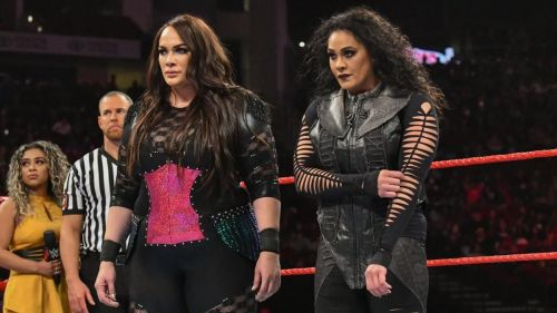 Nia Jax and Tamina