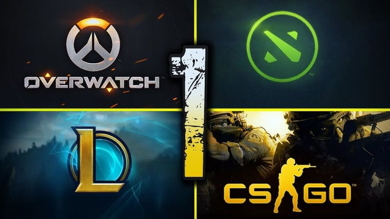 OverWatch - Dota2 - League of Legends - CS: Go.