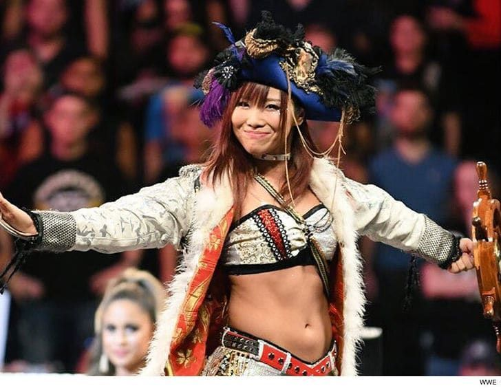 Is the Pirate Princess setting sail for the main roster?
