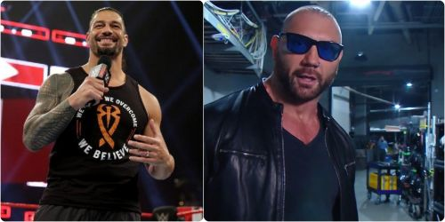 Both Roman Reign and Batista made their return to RAW this week