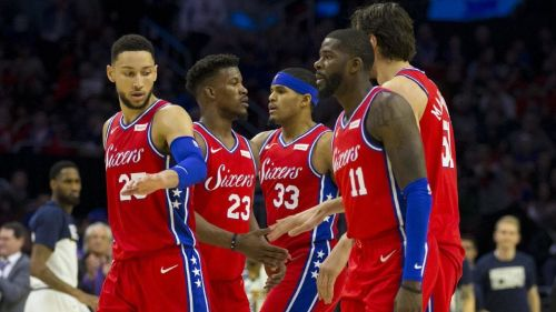 The Philadelphia 76ers are putting up a strong case for the playoffs lately