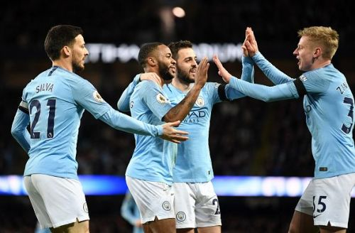 Manchester City thrashed Chelsea 6-0