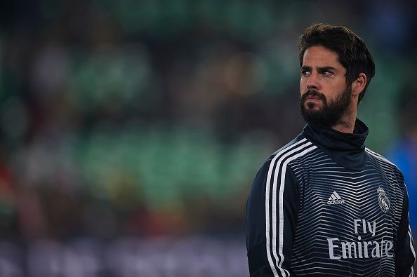 Isco is not enjoying his current situation with Real Madrid