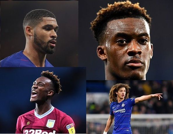 Some of the youngsters could come in the first plan with Chelsea