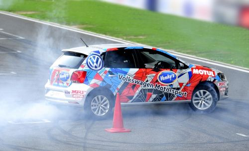 VW Motorsport India prepped Polo