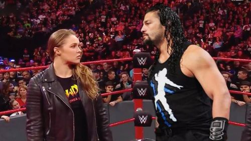 roman reigns and ronda rousey