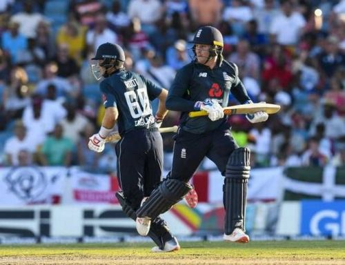Jason Roy & Joe Root took the visitors over the line in the first ODI
